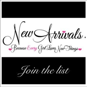 SIGN UP LIST FOR NEW ARRIVALS AND SPECIAL SALE